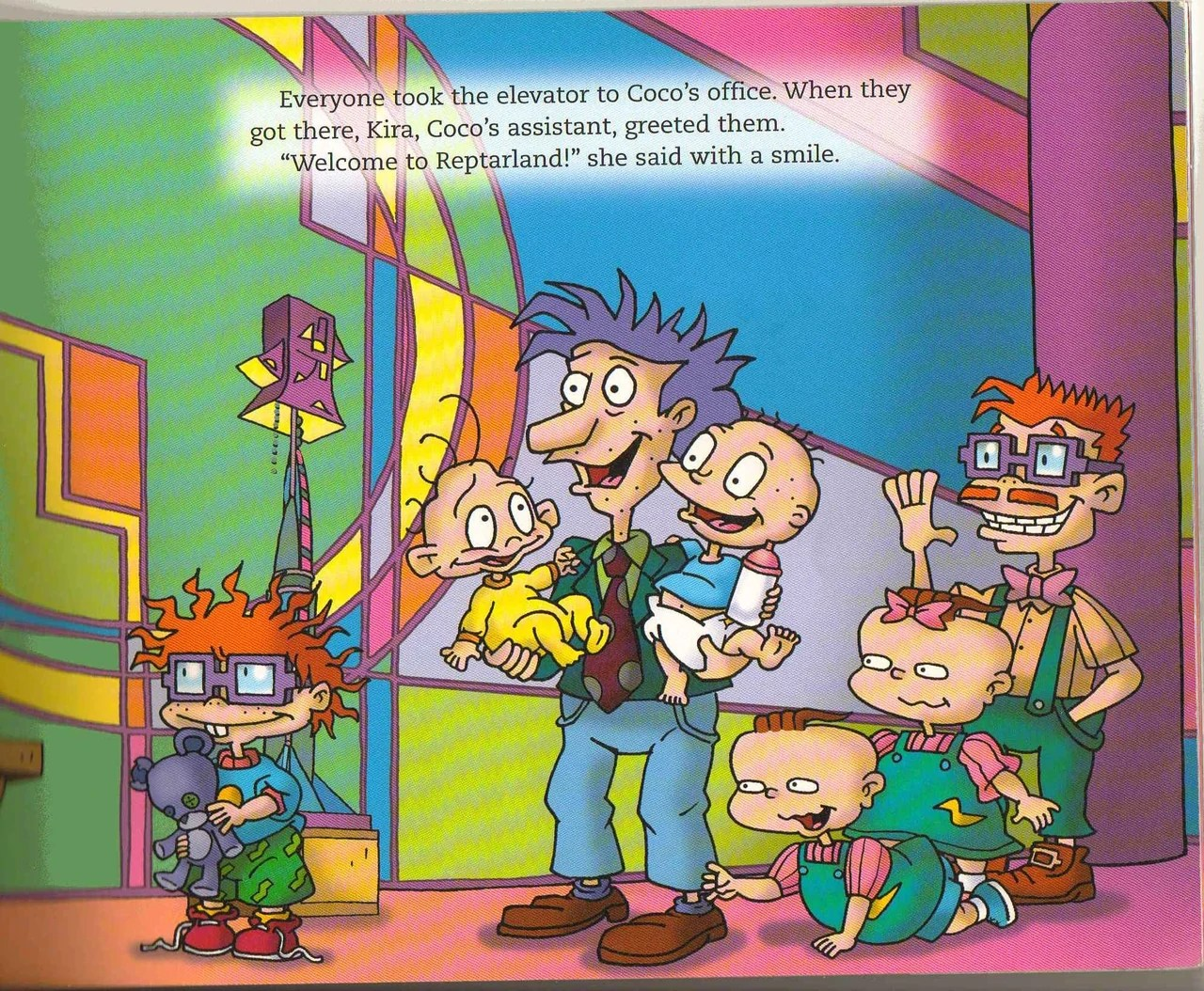 Chuckie Finster Rugrats Go Wild