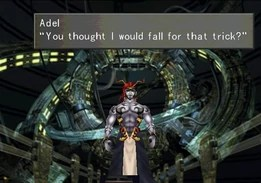 Adel atrapada en el Sorceress Memorial