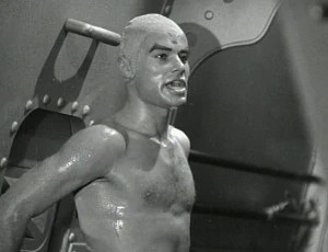 This is House Peters as Sharkman, not Mr. Clean. But You can see the resemblance.