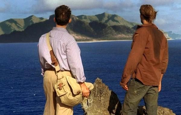 Ben and Sawyer spy an island