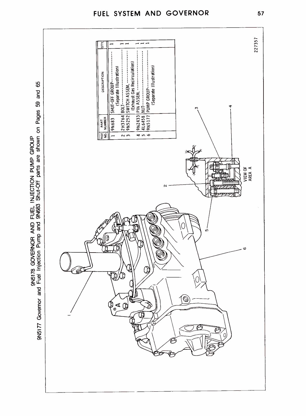 V8 Caterpillar Engine Parts Diagrams