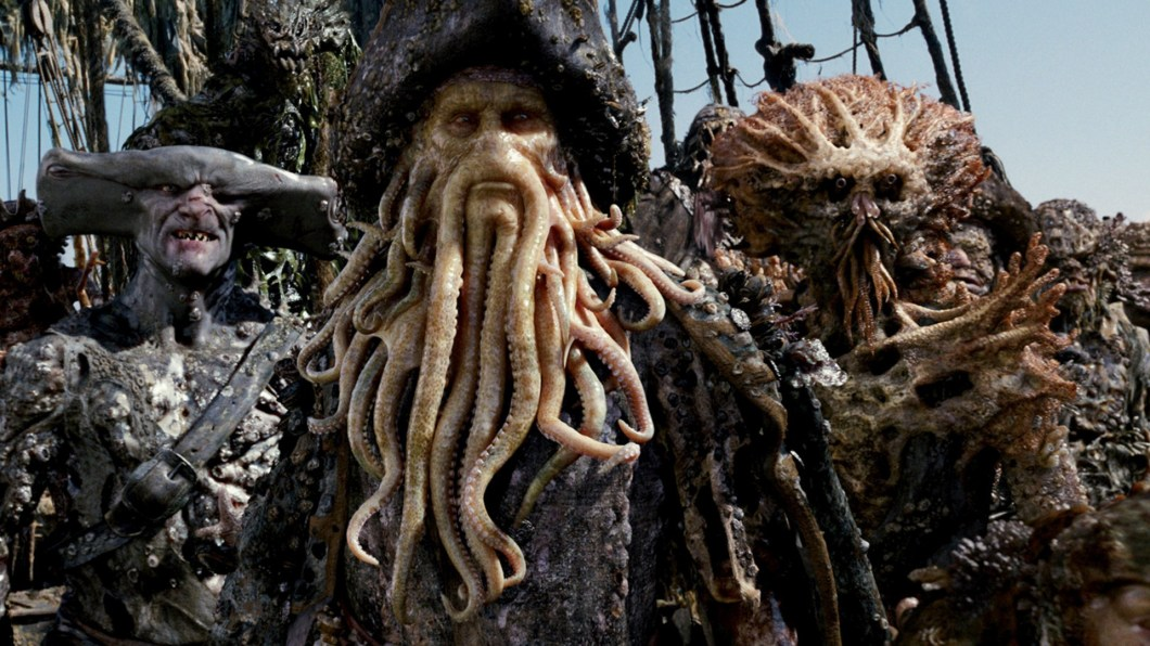 Image result for davy jones pirates of the caribbean