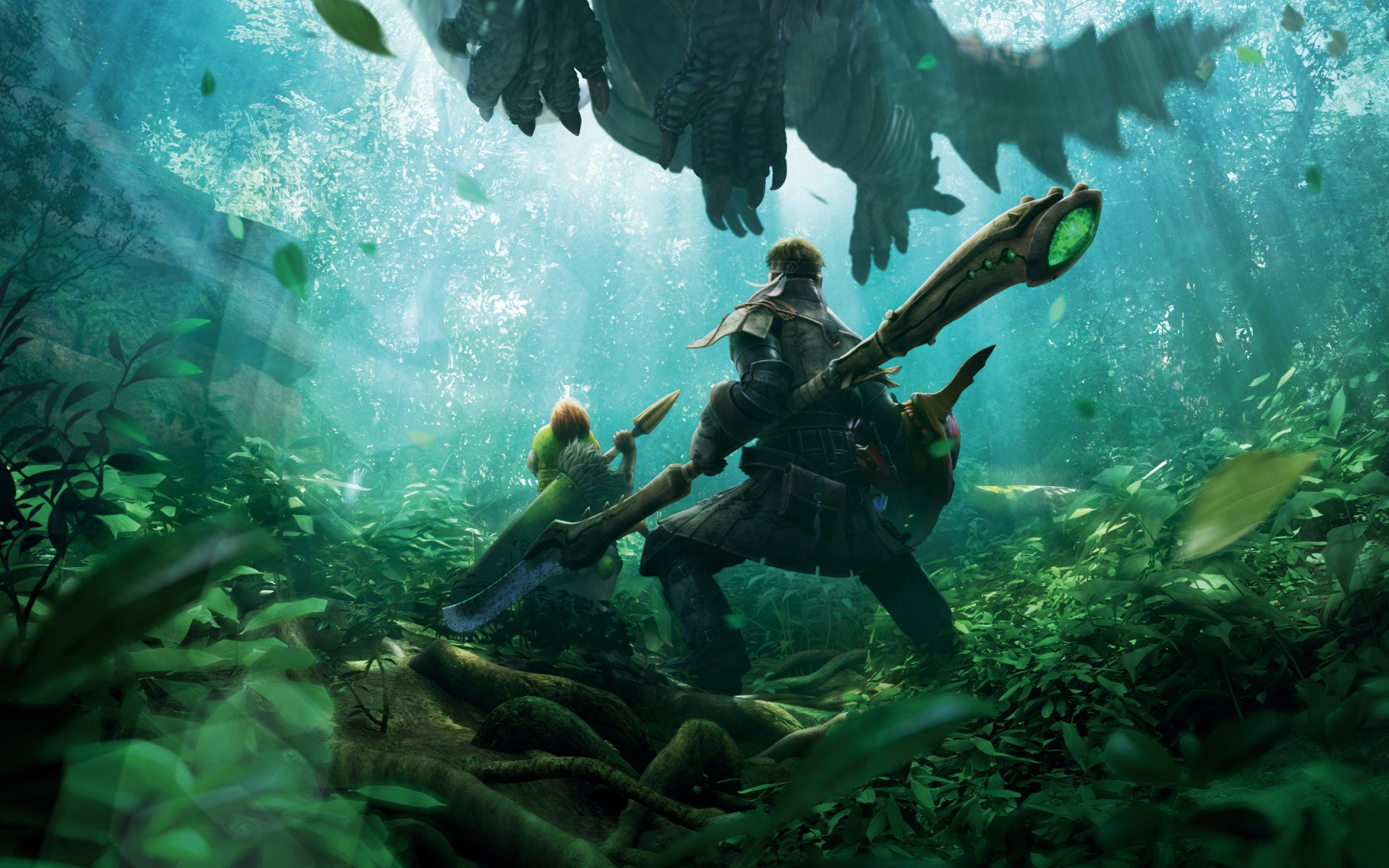 We determined that these pictures can also depict a gon freecss. Monster Hunter 4 Ultimate HD Wallpaper | Background Image ...