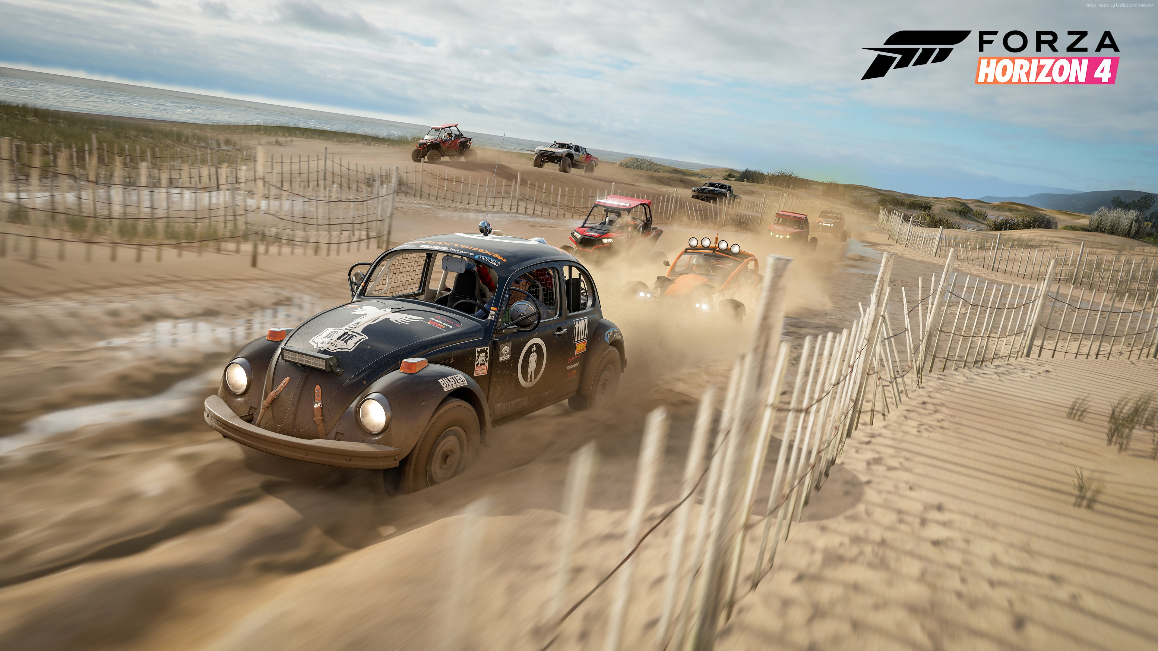 Forza Horizon 4 4k Ultra HD Wallpaper Background Image