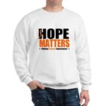 Hope Matters Kidney Cancer Sweatshirt