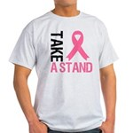 TakeAStand Breast Cancer Light T-Shirt