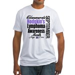 Hodgkins Month September Fitted T-Shirt