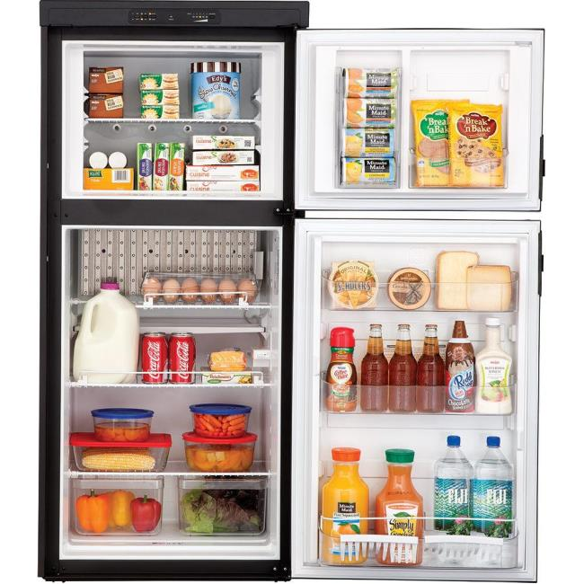 A refrigerator that could be used in an RV