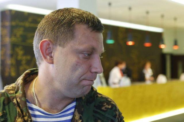Alexander Zakharchenko: Je vais écouter Poutine, mais les soldats ukrainiens ont à déposer les armes, Photo Reuters