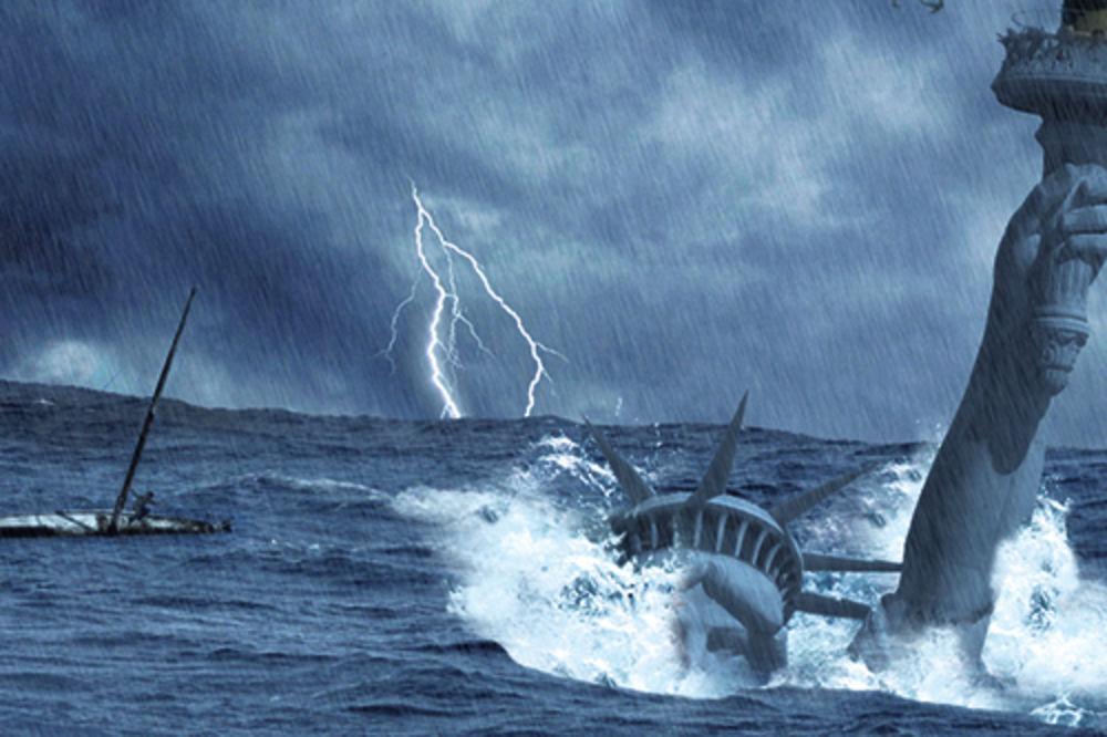 Amerika, Njujork, potop