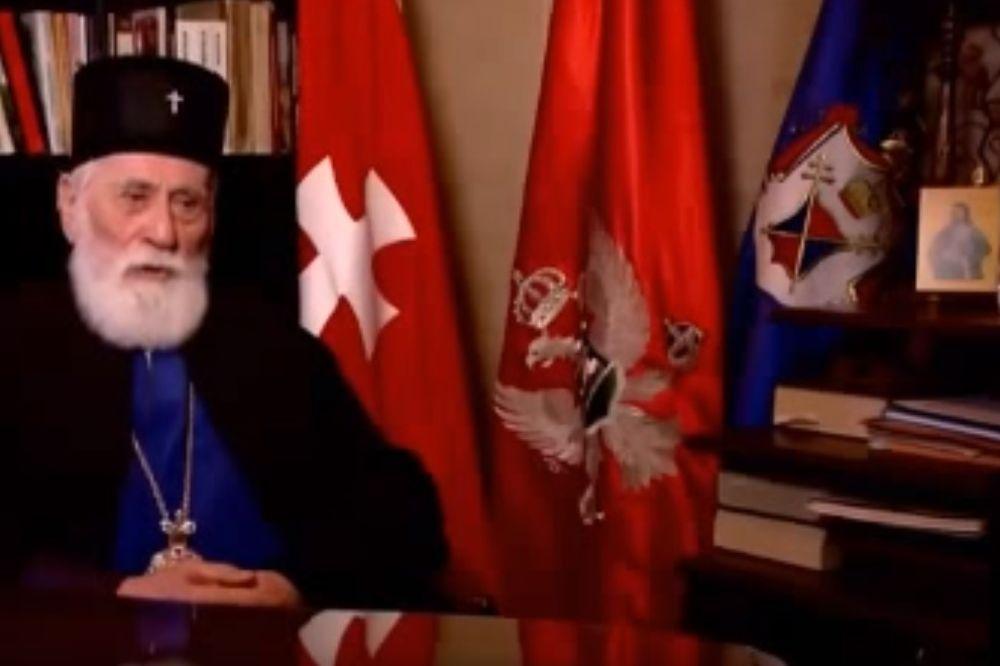 Mitropolit Mihailo, Miraš Dedeić, Crna Gora, Foto: Youtube/Printscreen