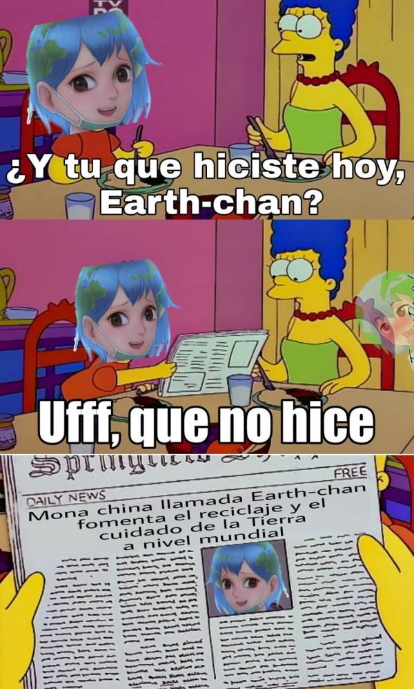 Top memes de earth-chan en español :) Memedroid