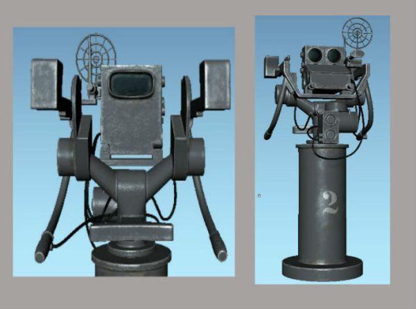 1/144 USN MK 51 Director Fire Control (KAL9DSLSD) by diStefan
