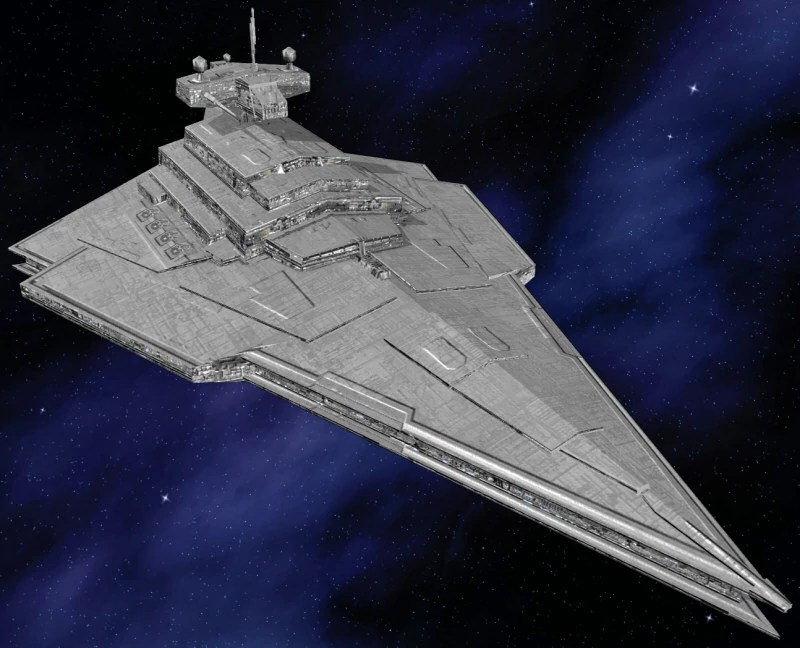 Star Wars: Dark Times imperial cruiser