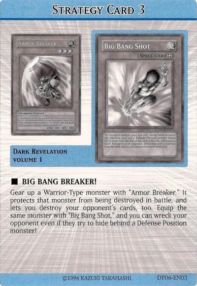 Strategy Card Yu Gi Oh
