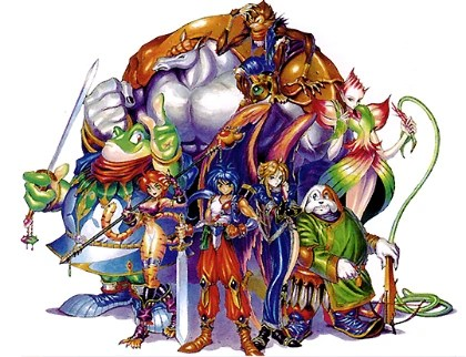 Breath of Fire II cast of characters