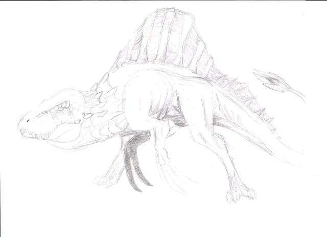 Venatosaurus vs utah raptor coloring pages