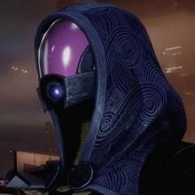 Tali in Mass Effect 2.