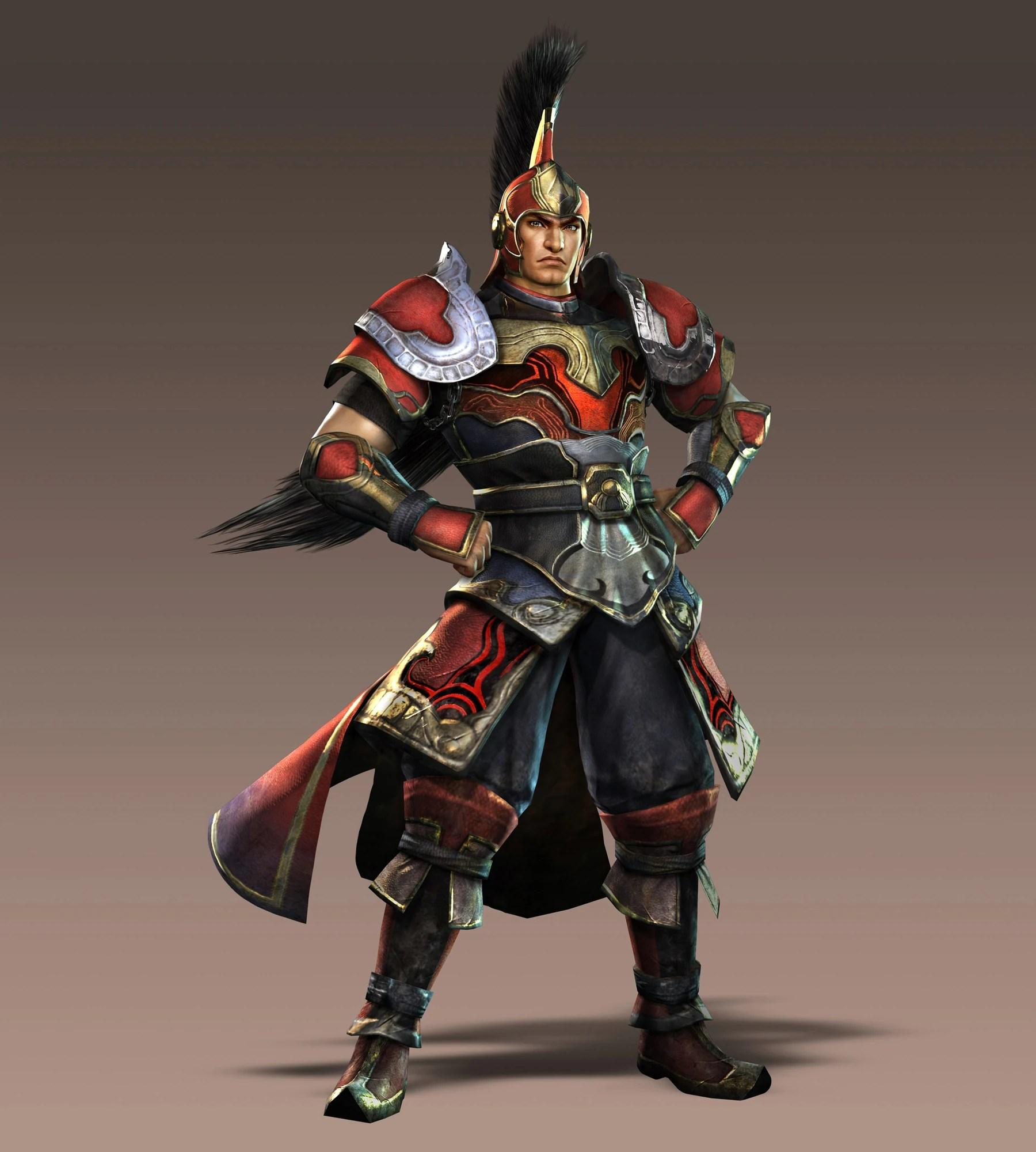 Personajes Dynasty Warriors 7