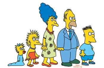 """Os Simpsons dos tempos do """"The Tracey Ullman Show"""""""
