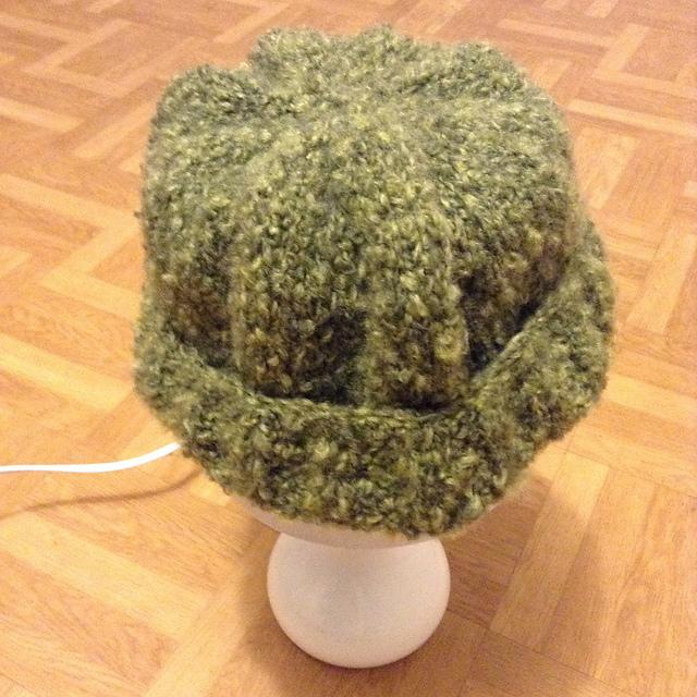 Bonnet gratuit tricot en toison bergère de france
