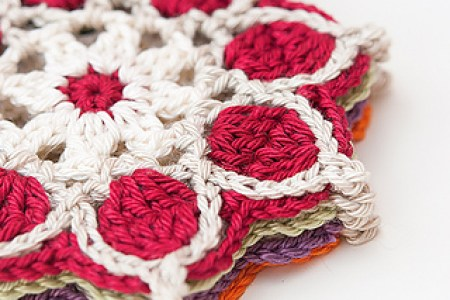 Flower Coaster Pattern Beautiful Flowers 2019 Beautiful Flowers