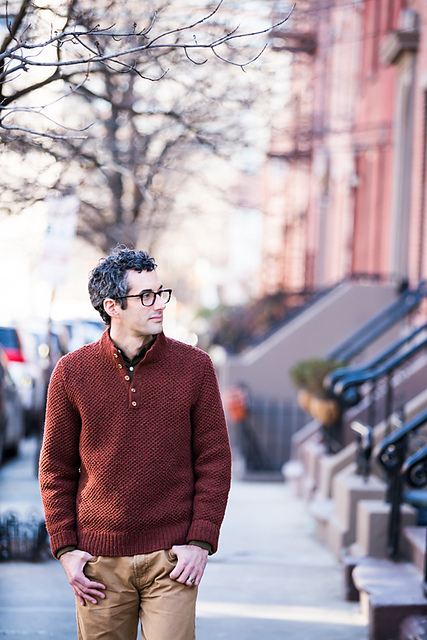 Sawyer Sweater via Brooklyn Tweed