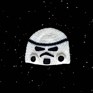 Free Pattern - Star Wars storm trooper beanie to crochet