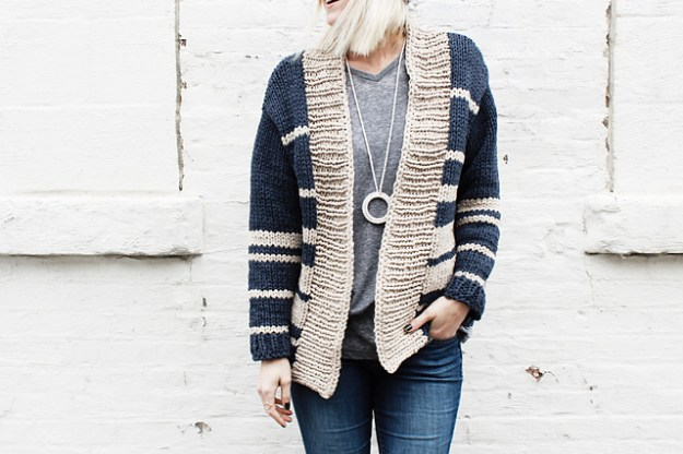 Oxford Boyfriend cardigan