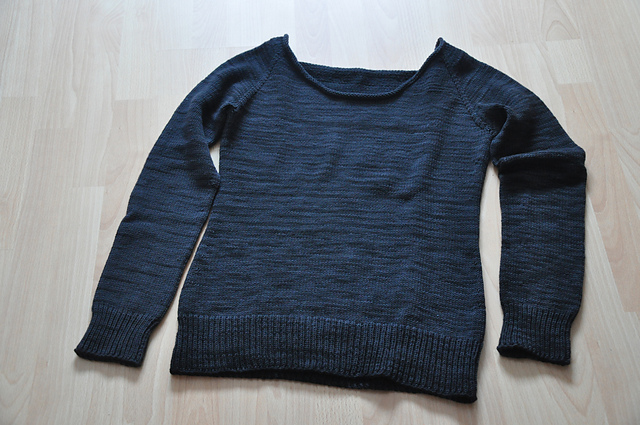 ease sweater wollmeise dk heavy metal stricken pullover