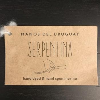 Manos del Uruguay Serpentina tag