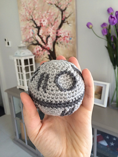 Free Star Wars Crochet Patterns death star