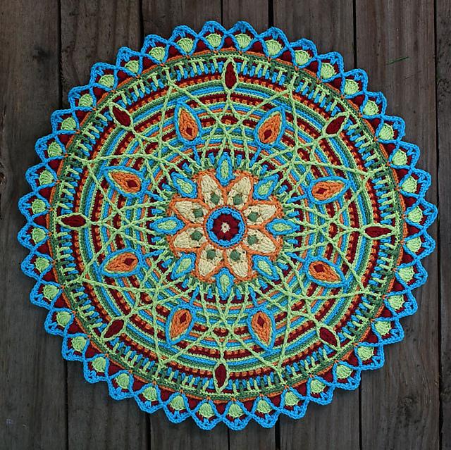 Crochet Overlay Mandala No. 5 - crochet pattern