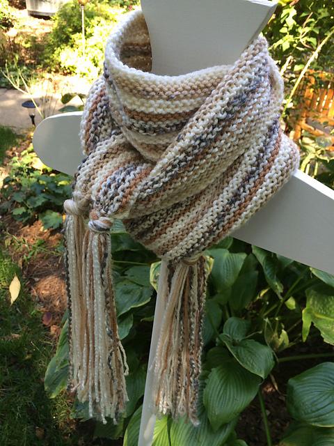 TJ's scarf