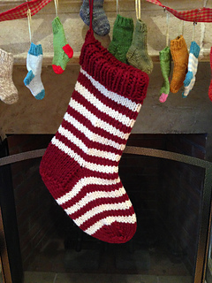 Jumbo Christmas Stocking on Ravelry