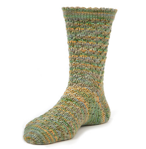 Rushing Rivulets sock patterns
