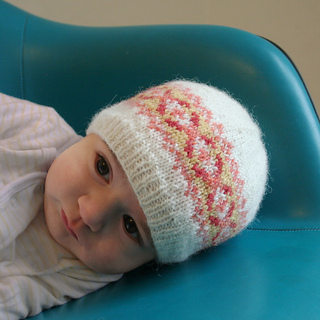 Ravelry Fair Isle Baby Hat Squam Edition Pattern By Mary
