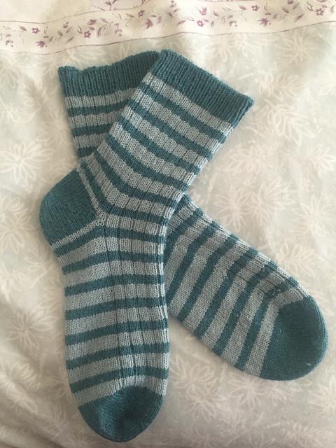felinity's peppermint stripes, on felinity knits