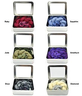 Ravelry Gemstone Scarf Kit Pattern By Iris Schreier