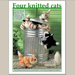 free cat knitting patterns # 29