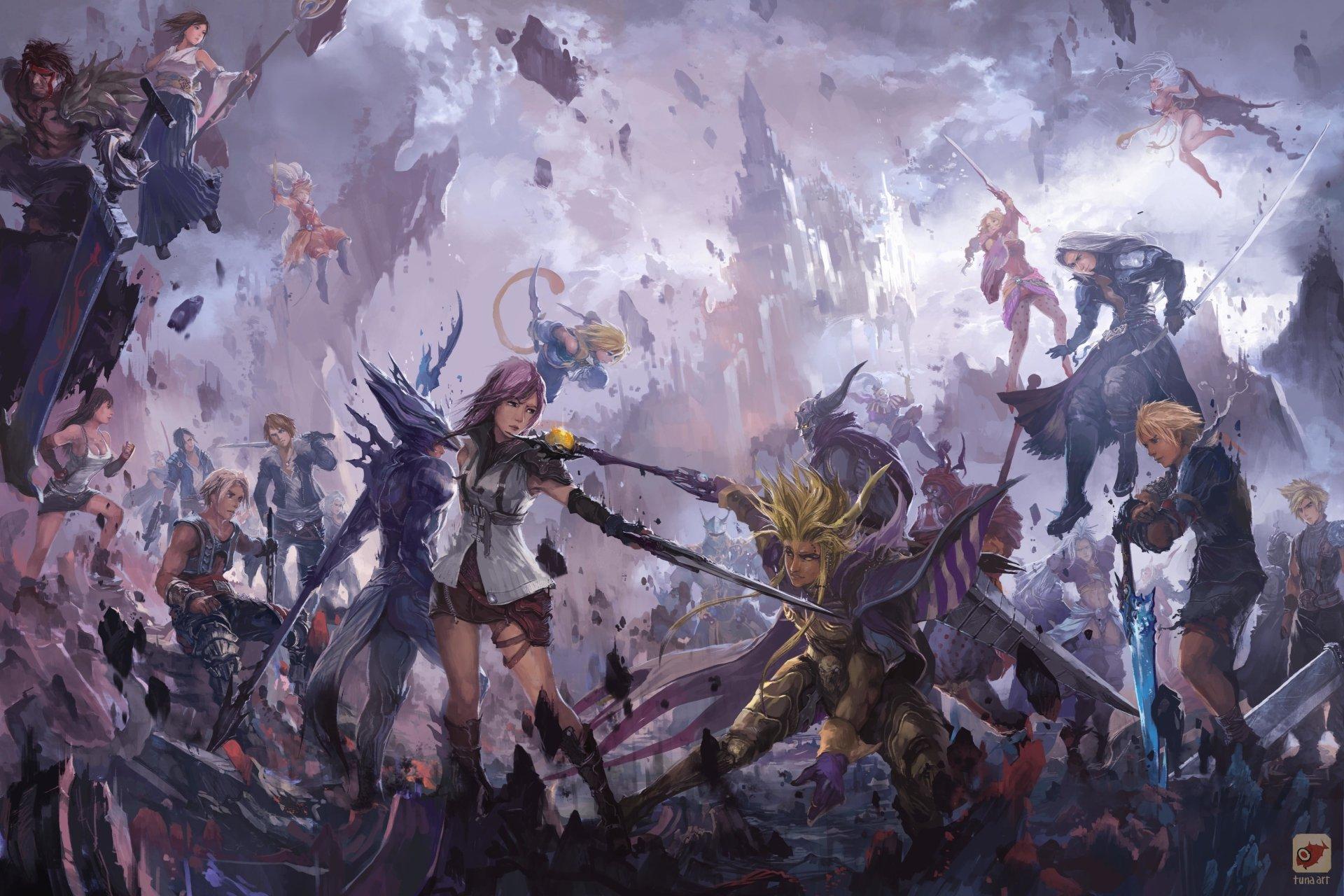 Dissidia 012 Final Fantasy 4k Ultra HD Wallpaper