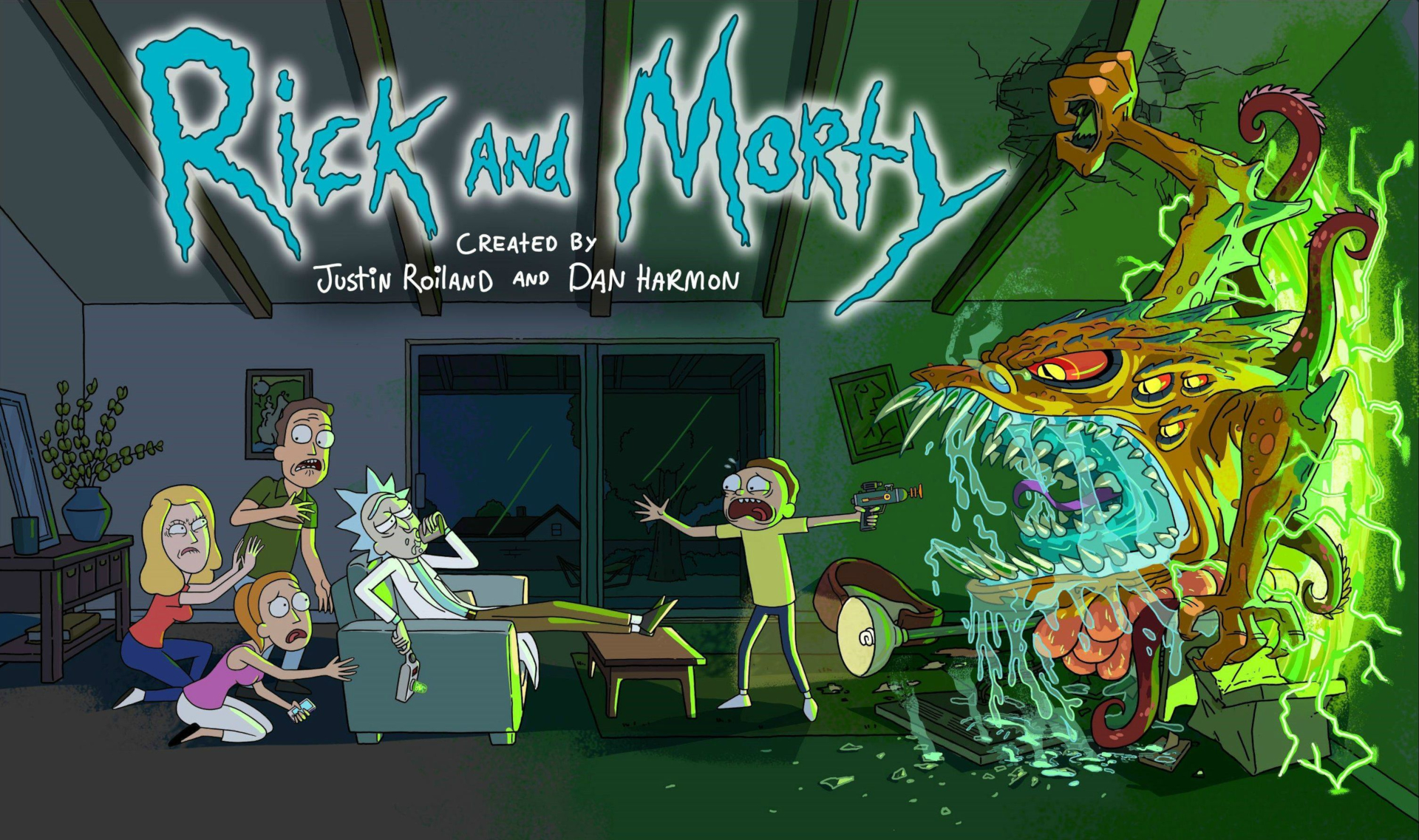 246 Rick and Morty HD Wallpapers   Background Images   Wallpaper Abyss HD Wallpaper   Background Image ID 606024
