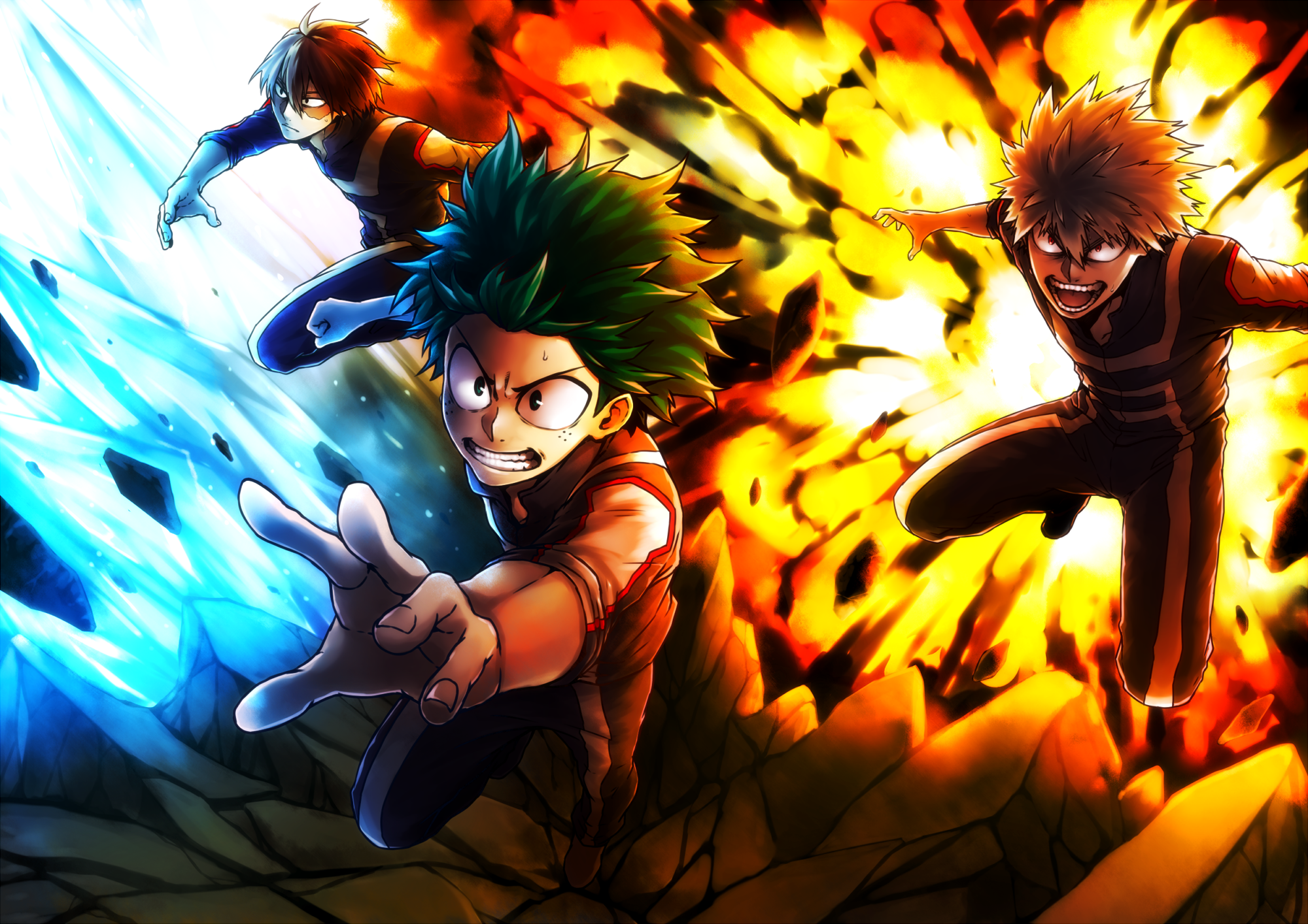 Grab this free colorful anime live wallpaper and make your android phone screen more attractive! 26 My Hero Academia HD Wallpapers | Backgrounds ...