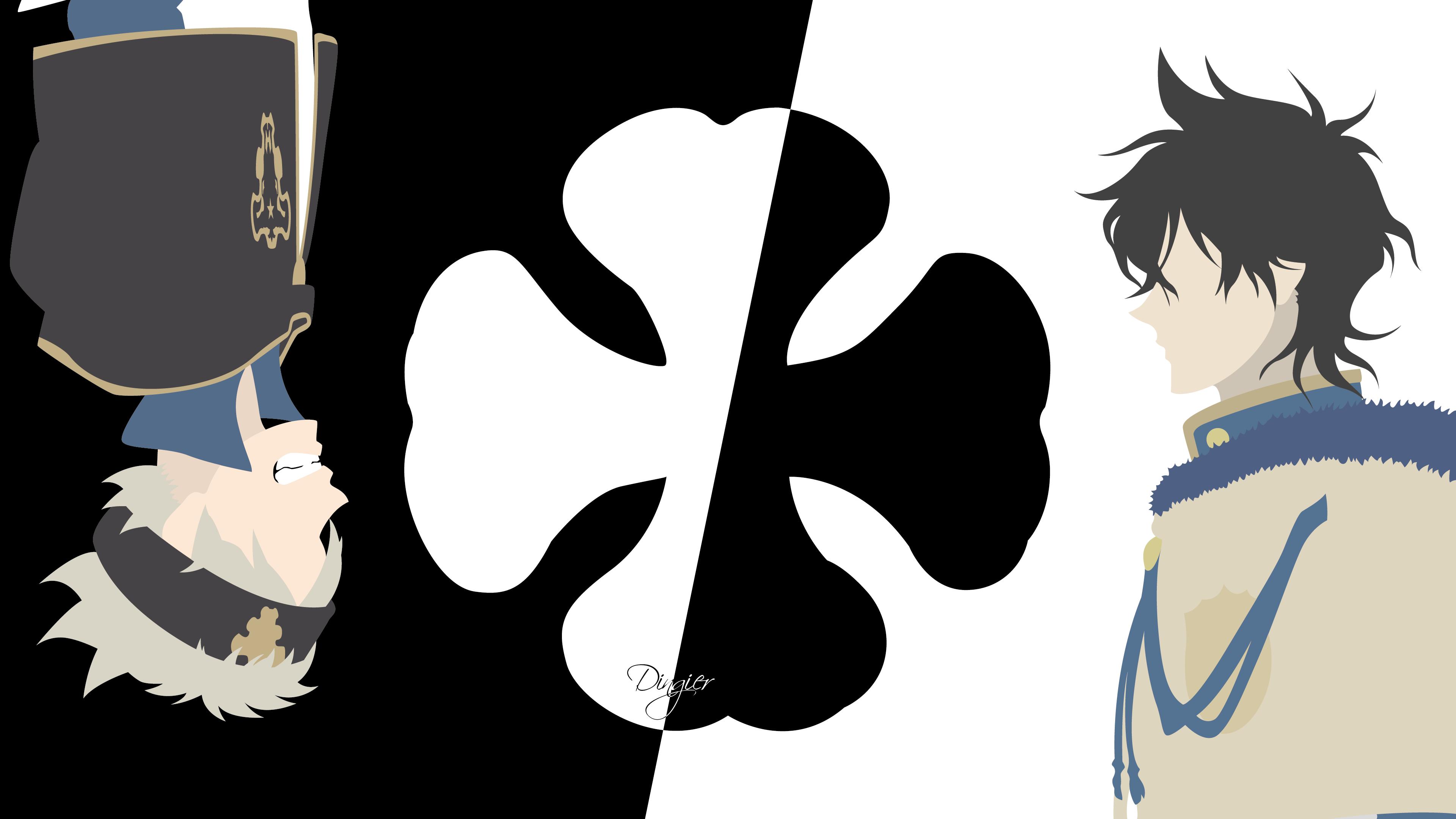 Wallpaper yuno asta black clover hd 4k free anime, black clover for desktop and mobile. Black Clover 4k Ultra HD Wallpaper | Background Image ...