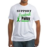 Cerebral Palsy Support Fitted T-Shirt