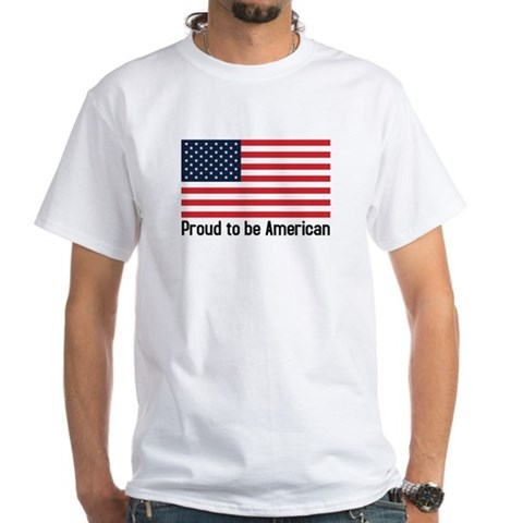 Proud to be American (flag) Shirt