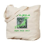 LOST ANIMALS OF JAPAN - VINTAGE STAMP Tote Bag
