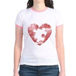 PIECE OF MY HEART Jr. Ringer T-Shirt