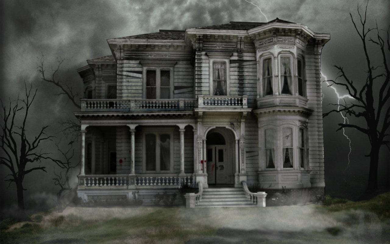 Haunted House - halloween Wallpaper