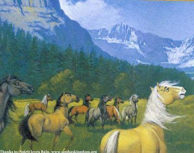 paint spirit stallion of the cimarron # 23